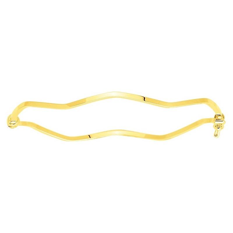 Bracelet jonc rigide en or...