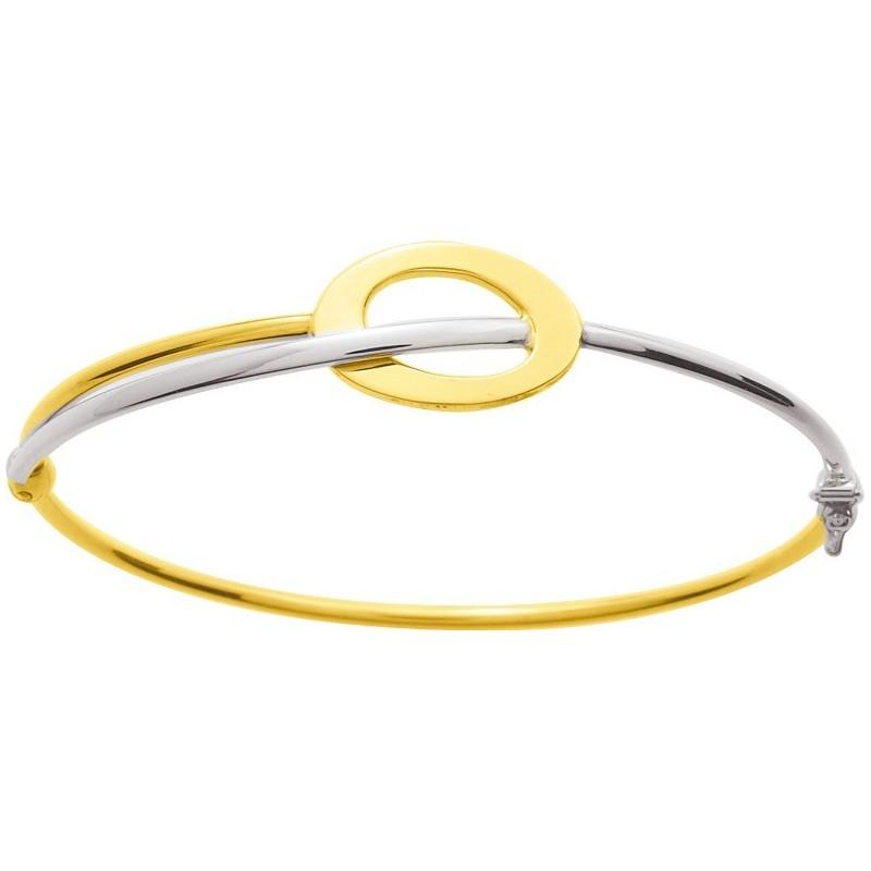 Bracelet deux ors