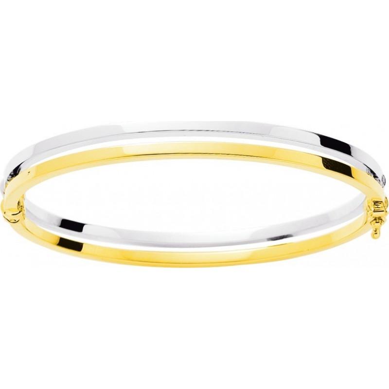 Bracelet jonc deux ors